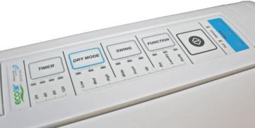EcoAir DC202 Control Panel