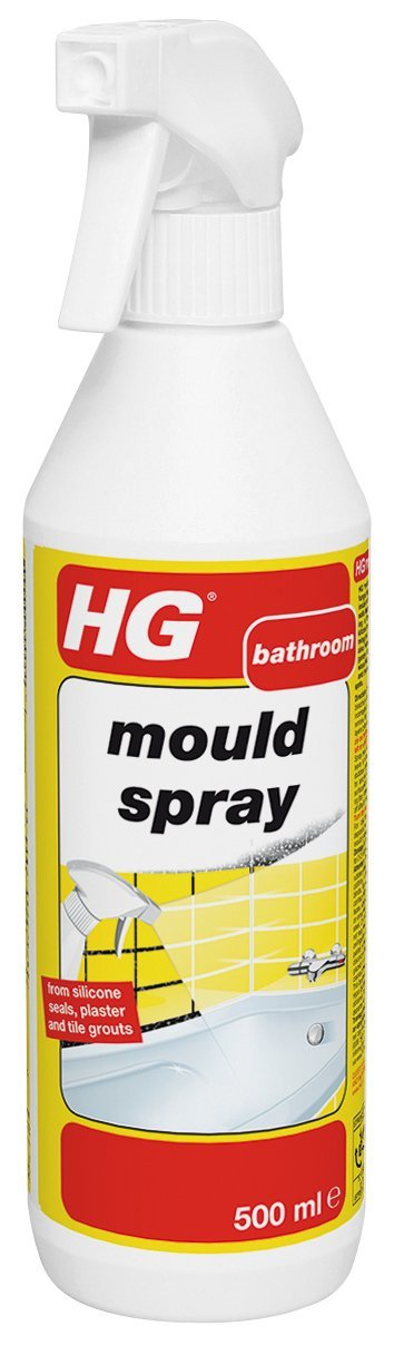 HG Mould Spray Review Is The Secret Just Diluted Bleach - Products to remove mold from bathroom