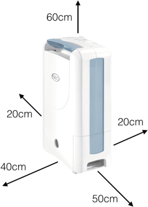 Caravan Dehumidifiers Distance To Walls